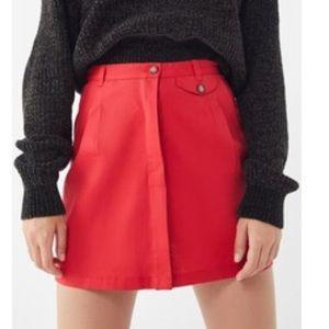 NWT Urban Renewal Twill Utility Mini Skirt
